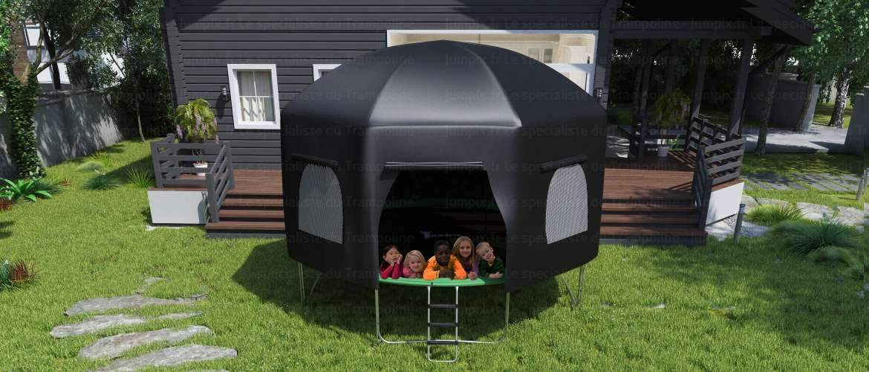 tente pour trampoline topflex 430