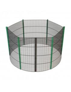 Filet de protection pour trampoline 305 cm
