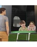 Cabane trampoline Ø 330 cm pour TOUT Trampoline Ø 305 cm