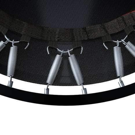 ressorts trampoline fitness pliable topflex femme