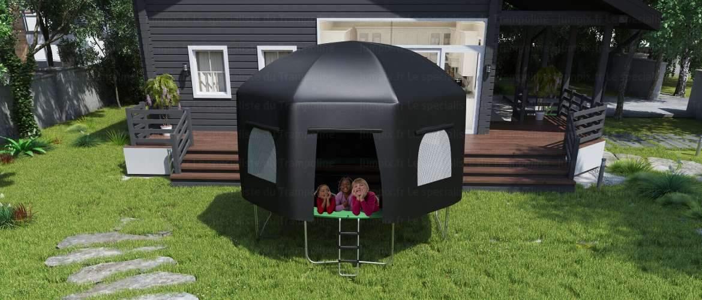 tente pour trampoline topflex 370