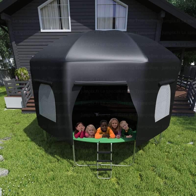 tente pour trampoline topflex tente pour trampoline 370cm. Black Bedroom Furniture Sets. Home Design Ideas