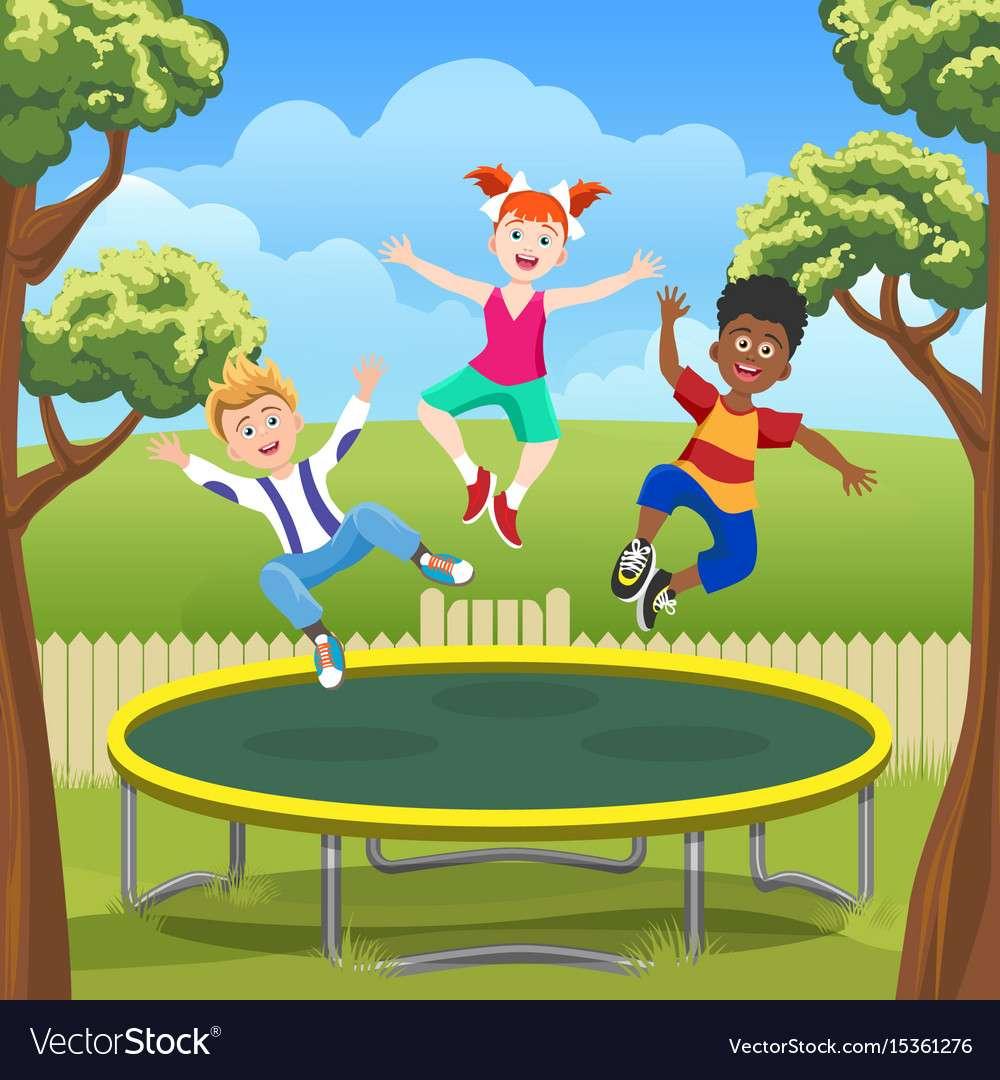 apprendre saut trampoline decathlon