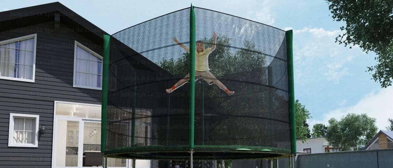 trampoline topflex 305