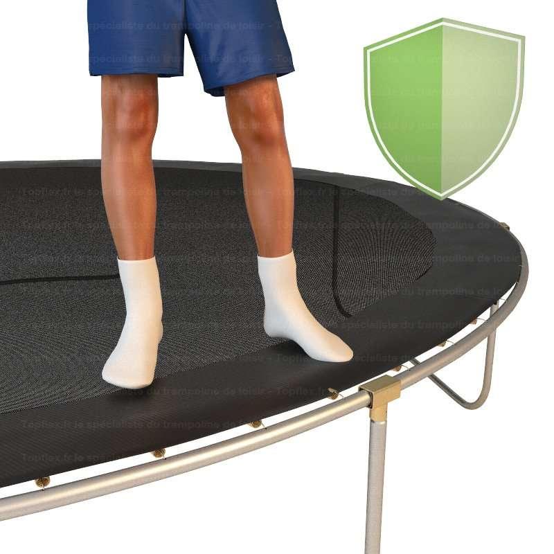 tapis de saut trampoline topflex