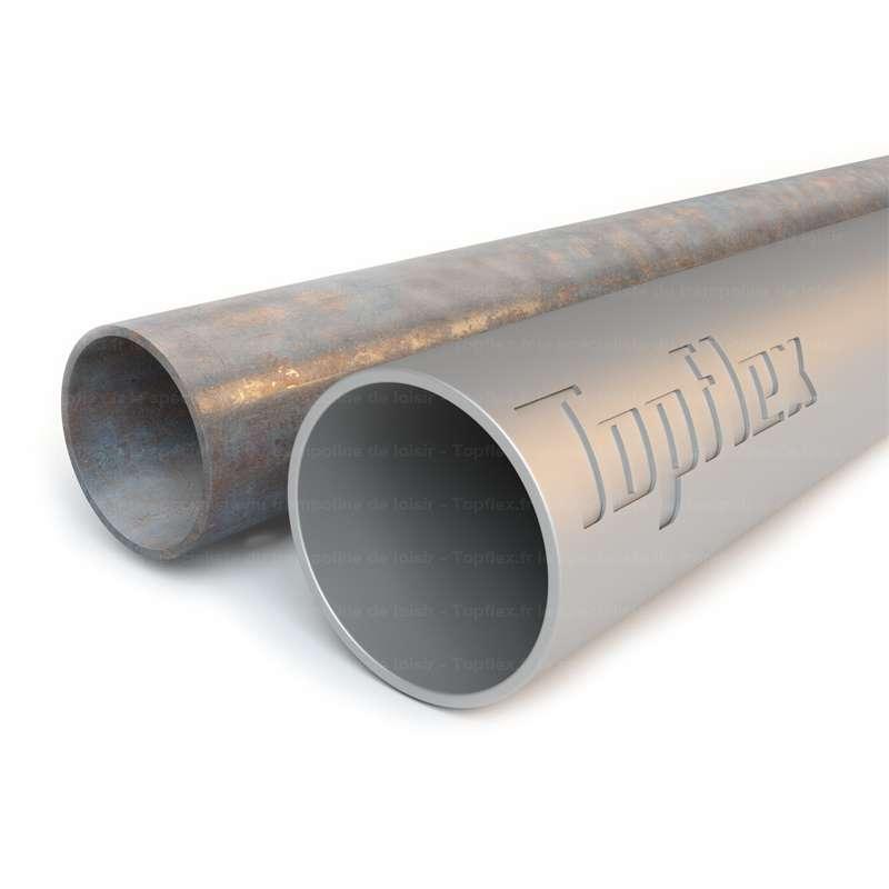corrosion tube trampoline