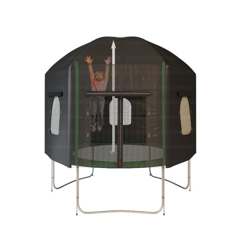 tente sauter trampoline topflex