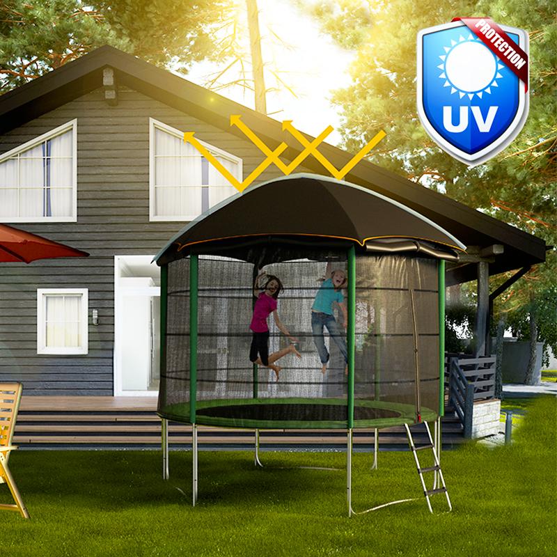 topflex trampoline tent