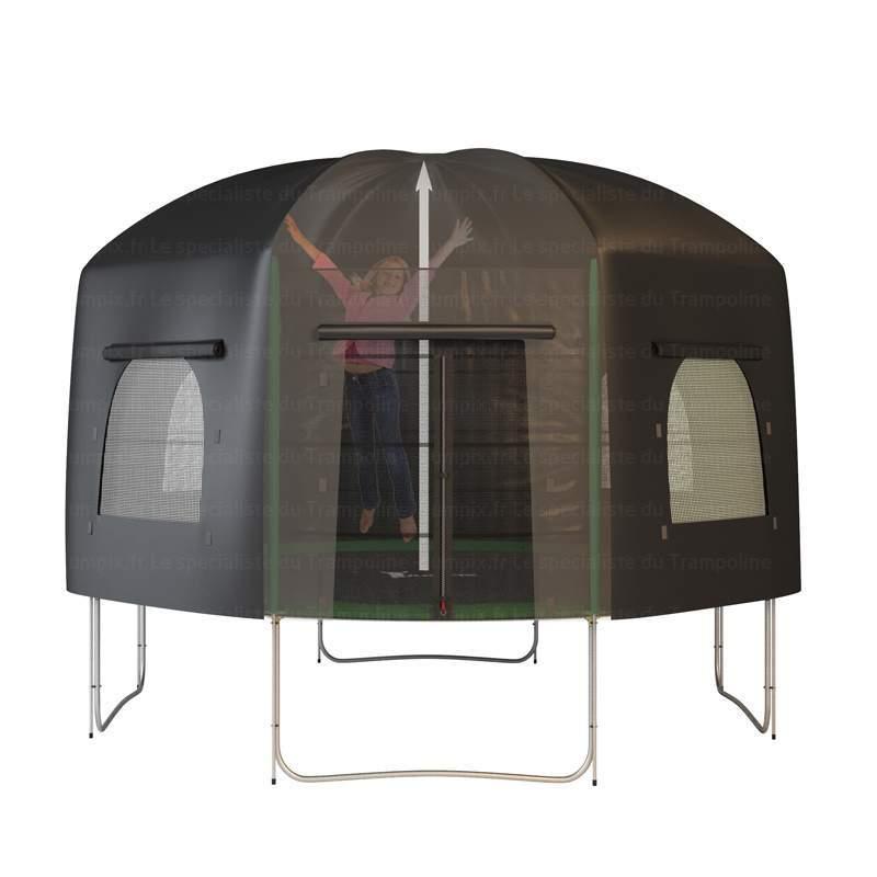 tente pour trampoline toit pour trampoline tente pour trampoline 430 cm topflex. Black Bedroom Furniture Sets. Home Design Ideas