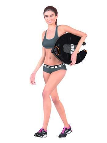 trampoline fitness pliable topflex femme