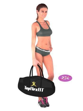 trampoline fitness topflex femme sac transport