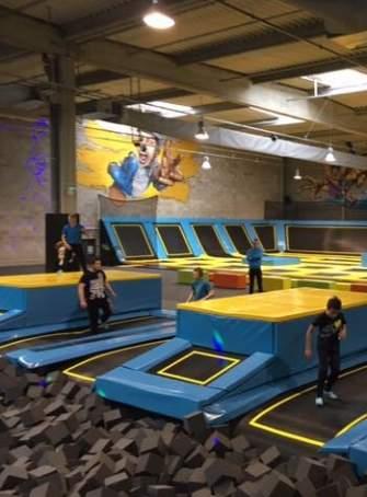 trampoline park lyon 2