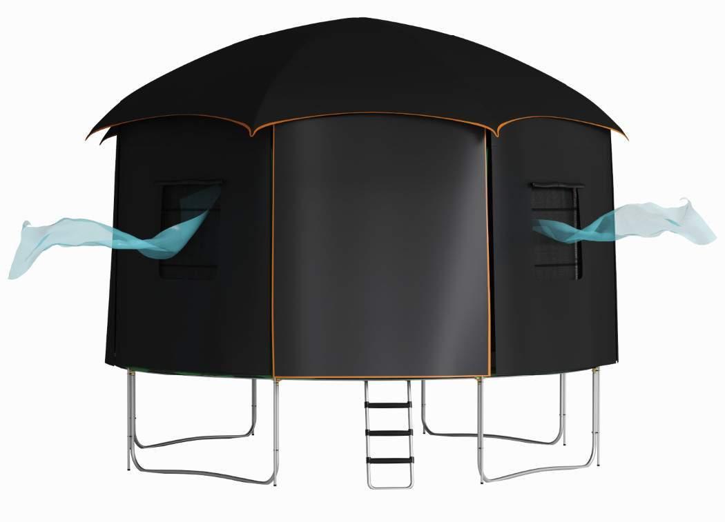 tente trampoline